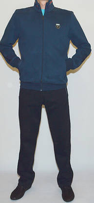 Мужской утепленный спортивный костюм AVIC L, фото 2