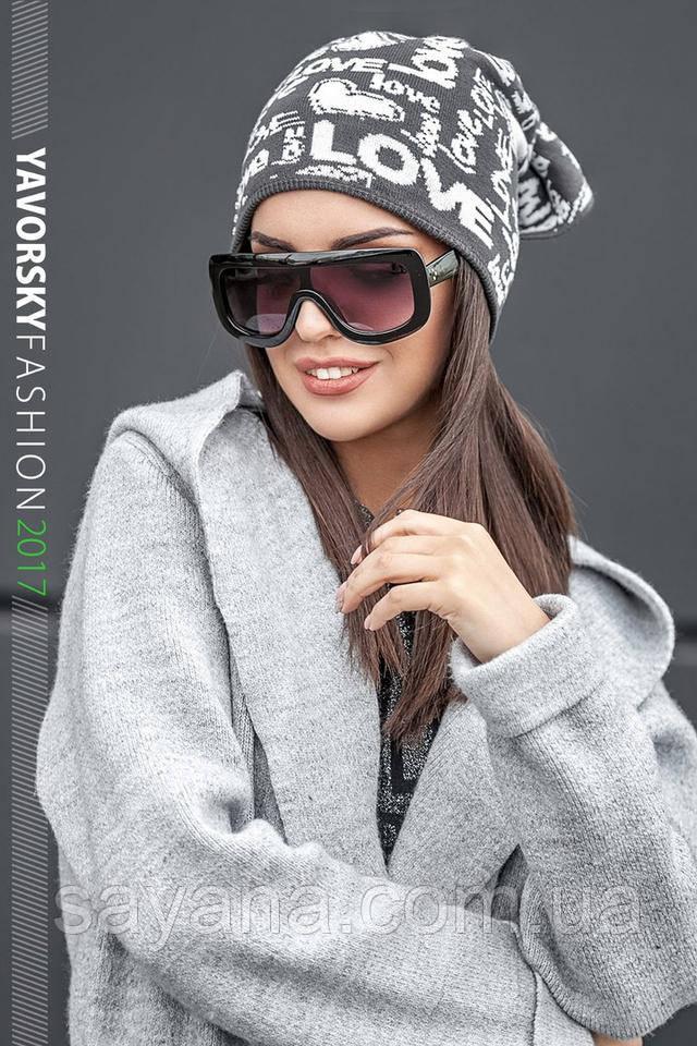 модные шапка и шарф