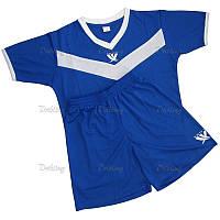Комплект детской футбольной формы SWIFT IDEA 26 TACTEL Сине-белая (134 см)