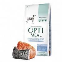 OptiMeal (Оптиміл) Гіпоалергенний сухий корм для собак великих порід – лосось 12 кг