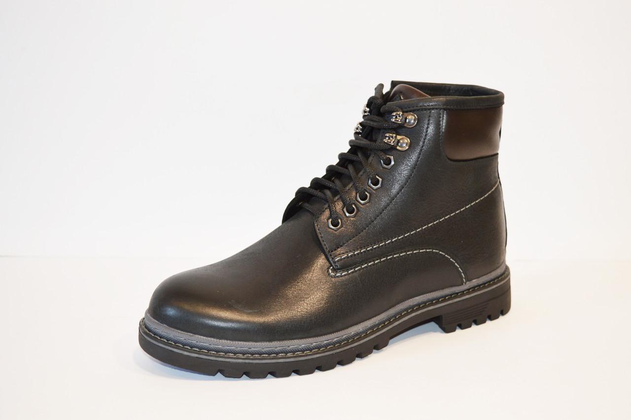 Ботинки мужские с натуральным мехом Faber