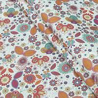 Ткань с акриловой пропиткой поляна цветов