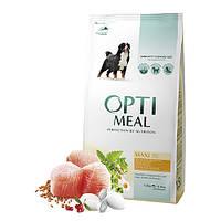 OptiMeal (Оптиміл) сухий корм для собак великих порід - курка
