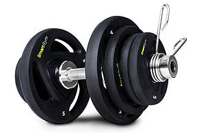 Гантеля олимпийская обрезиненная SmartGym 26 кг, фото 2