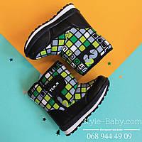 Детская зимняя термо обувь зимние ботинки Томм р. 23,24,25,26,27,28