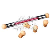 Аэропуффинг, кисть-спонж для градиента (aeropuffing или ombre stick), набор