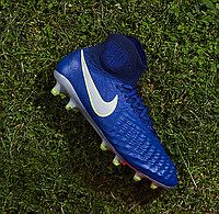 Бутсы Nike Magista Obra II FG - Deep Royal Blue/Chrome/Total Crimson
