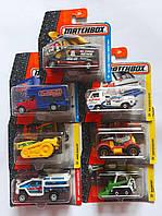 Машина Металлическая 1:64 Hot Wheels Служебные машины С0859 Mattel Китай