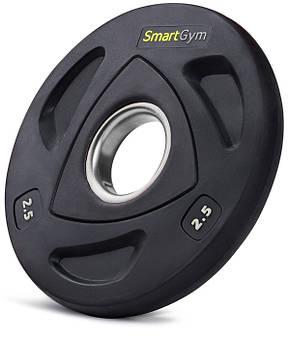 Диск олимпийский SmartGym 2,5 кг, фото 2