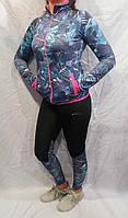 Женский тренировочный костюм для фитнеса