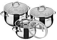 Набор посуды 6 предметов Maxmark MK-BL6506B