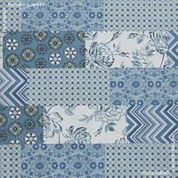 Ткань с акриловой пропиткой курбет т.голубой