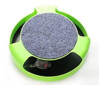 Интерактивная Игрушка для Кошек Когтеточка Catch The Mouse Поймай Мышку