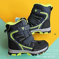 Зимние термо ботинки высокие для мальчика ТомМ р. 28,33