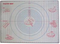 Силиконовый коврик для раскатки теста,для запекания, коврик с разметкой, 62х46 см (ПРОФЕССИОНАЛЬНЫЙ)