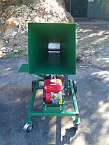 Измельчитель веток 90-Д (с бензиновым двигателем 16 л.с. на колесах) , фото 2