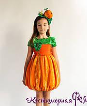 Дынька, карнавальный костюм дыни для девочки (код 61/2)