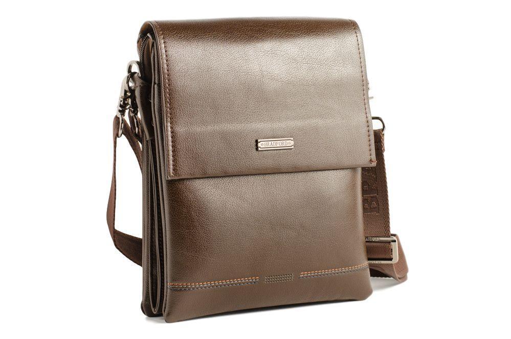 Коричневая мужская сумка Bradford 930-3 К