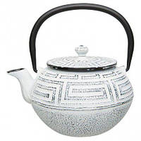 Чугунный чайник заварочный BergHOFF 1107200 на 0,95 л. белый