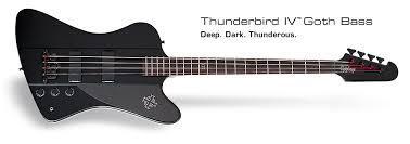 Бас-гитара Epiphone Thunderbird Pro-IV PB