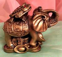 Статуэтка Слон-жаба, высота 8 см.