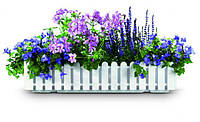 EMSA EM956501200 Оконный вазон для цветов LANDHAUS 50см (Белый)