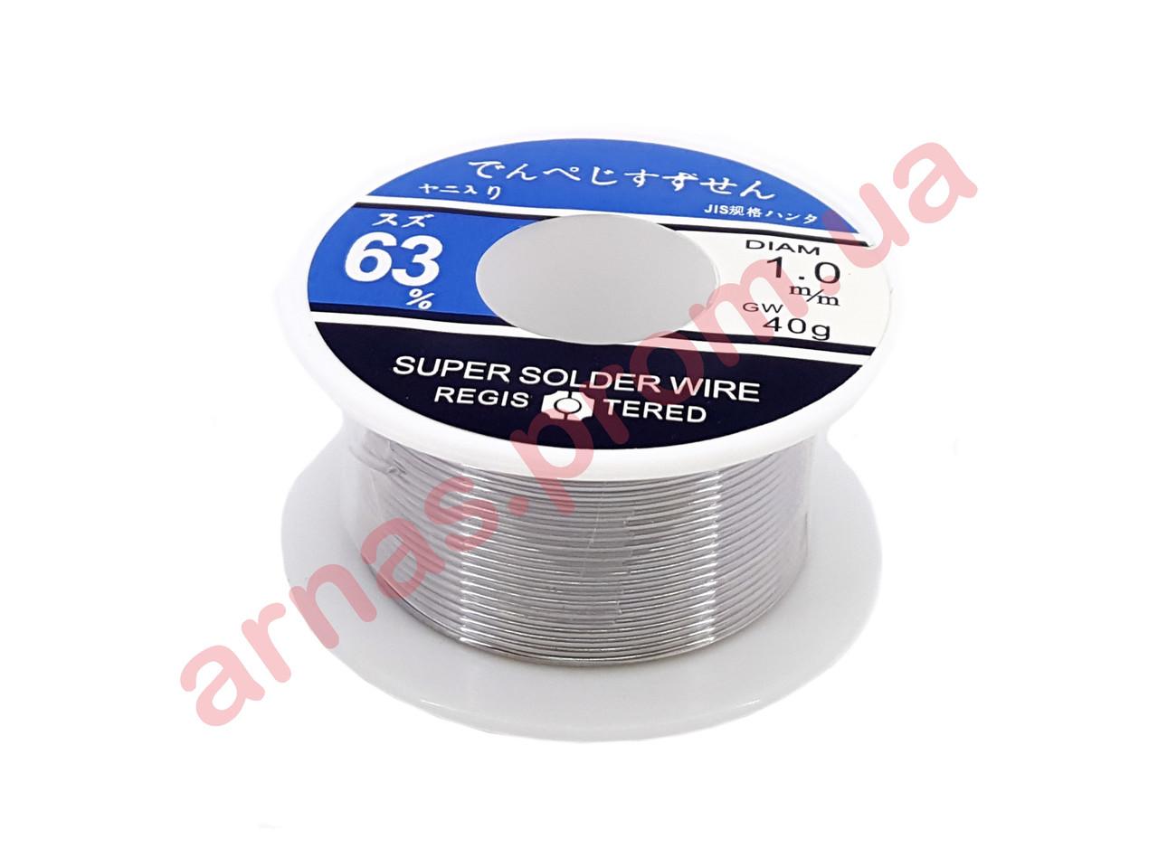Припой для пайки 40g Super solder wire (3-91)