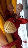 """Подхват-игрушка для штор в детскую """"Жирафчик"""""""