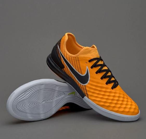 54753100b414 Футзалки Nike MagistaX Finale II IC - Laser Orange Black White Volt ...