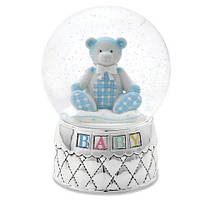 Музыкальный шар REED&BARTON 2604 Gingham Bear Waterglobe 16,5 см