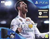 Игровая приставка SONY PS4 1TB SLIM + FIFA 18
