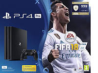 Игровая приставка SONY PS4 1TB PRO + FIFA 18