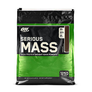 Optimum Nutrition Serious Mass 5,4 kg Оптимум Сириус Масс 5,4 кг