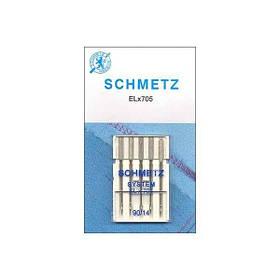 Иглы для оверлока Schmetz №90