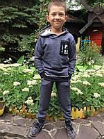"""Детский теплый спортивный костюм для мальчика на осень-весну  """"Джинс петля"""""""