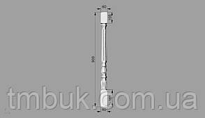 Балясина 4 гранёная - 900х60х60 мм, фото 2