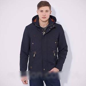 Мужская демисезонная куртка с капюшоном -парка