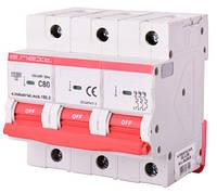 Модульный автоматический выключатель e.industrial.mcb.150.3.C80, 3р, 80А, C, 15кА