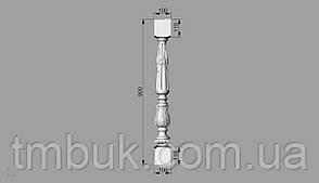 Балясина 6 - 900х100х100 мм, фото 2