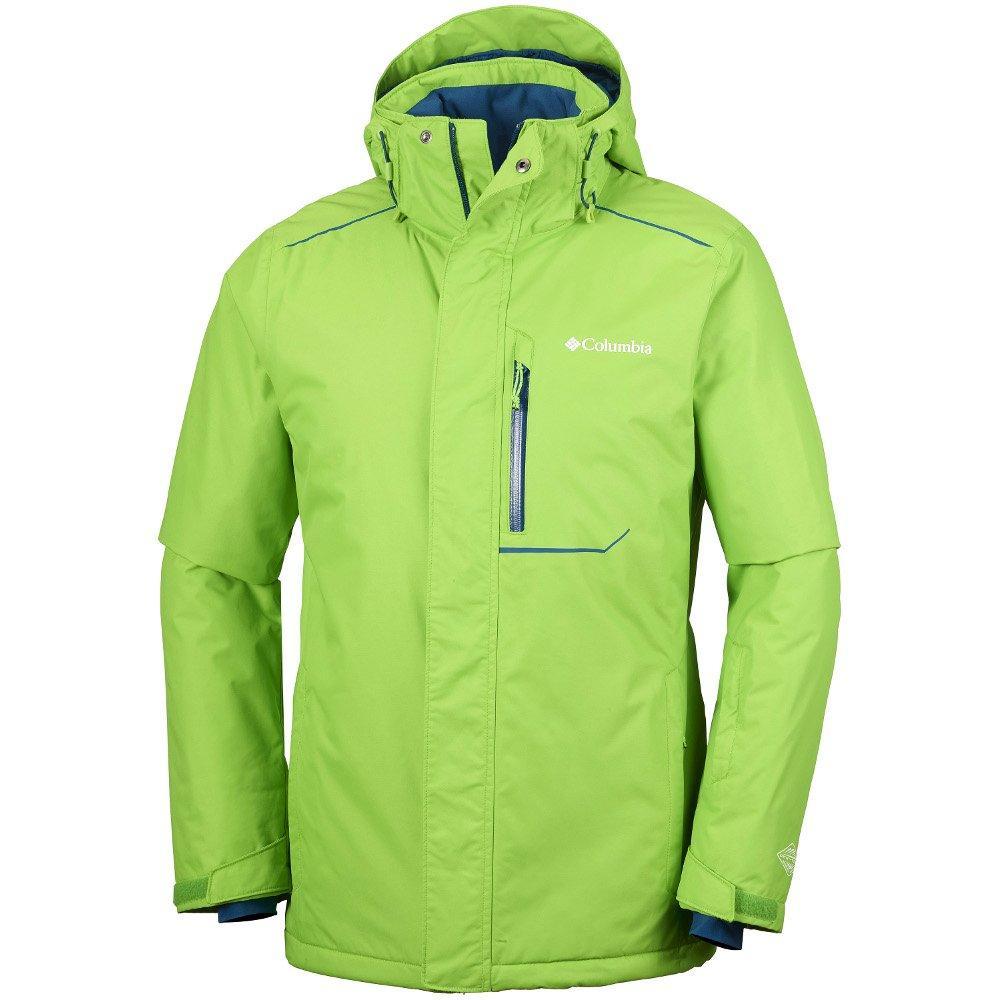 Оригинальная мужская куртка COLUMBIA RIDE ON JACKET CYBER GREEN -  All-Original Только оригинальные товары 37f2eb0c61b05