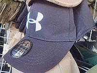 Брендовая бейзболка Under Armor синяя