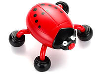 Портативный Массажер Божья Коровка на Батарейках Beetle Massager FH-119