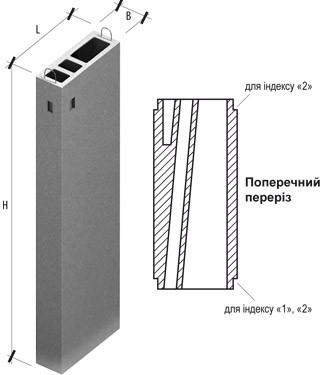 Для сооружений до 10 этажей ВБВ 28-2