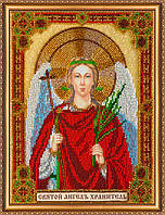 Набор для вышивания бисером АВ-302 Святой Ангел Хранитель (холст)