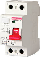 Выключатель дифференциального тока e.rccb.pro.2.40.100, 2р, 40А, 100мА, фото 1