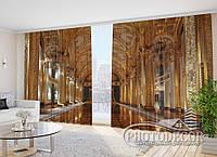 """Фото Шторы в зал """"Дворец"""" 2,7м*2,9м (2 полотна по 1,45м), тесьма"""