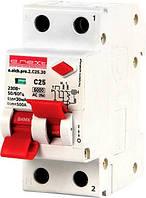 Выключатель дифференциального тока (дифавтомат) e.elcb.pro.2.C25.30, 2р, 25А, C, 30мА с разделенной рукояткой