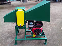 Измельчитель веток 90-Д (с бензиновым двигателем 16 л.с. на колесах)