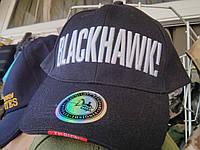 Брендовая бейзболка BlackHawk черная