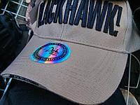 Брендовая бейзболка BlackHawk бежевая, фото 1